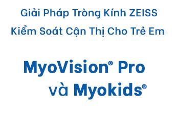 Giải pháp tròng kính ZEISS Kiểm Soát tăng độ cận thị cho trẻ em