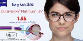 Tròng Kính ZEISS 1.56 Duravision Platinum UV