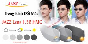 Tròng Kính Đổi Màu Jazz Lens 1.56 HMC