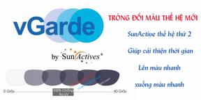 Tròng Kính Đổi Màu Singapore ILT SUNACTIVES G2 1.56
