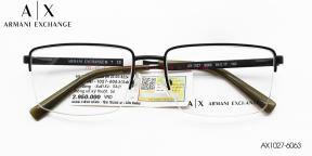 Gọng Kính Hợp Kim Armani Exchange AX1027F-6063