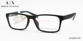 Gọng Kính Nhựa TR90 Armani Exchange AX3038F-8199