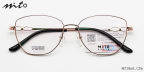 Gọng Kính Nữ Mito B-Titanium MT1860_C06